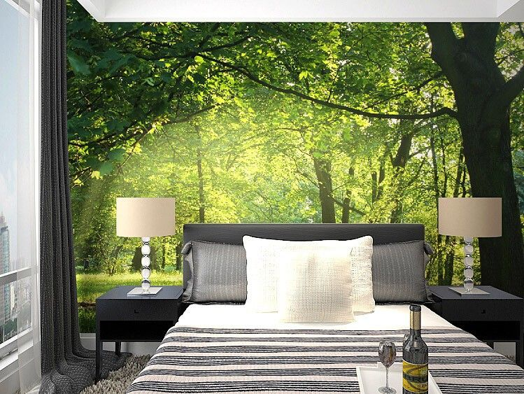 Custom 3d wallpaper idyllic natural flowers wallpaper for living room bedroom 3d wall mural wallpaper for