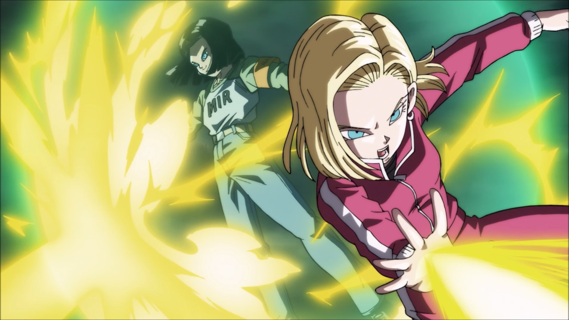 Android 17 And Android 18 Anime Dragon Ball Super Anime Dragon