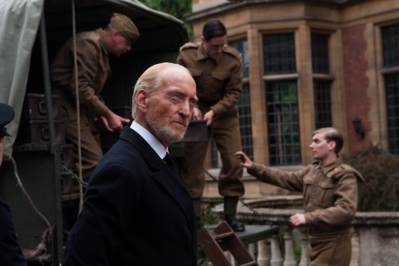 "Charles Dance as Commandant Denniston in ""The Imitation Game"""
