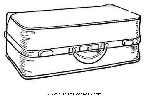 koffer zeichnung