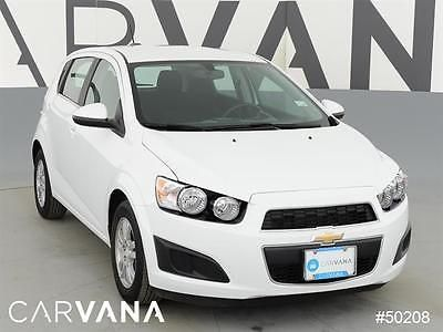 2016 Chevrolet Sonic Sonic Lt Auto White 2016 Sonic With 23233
