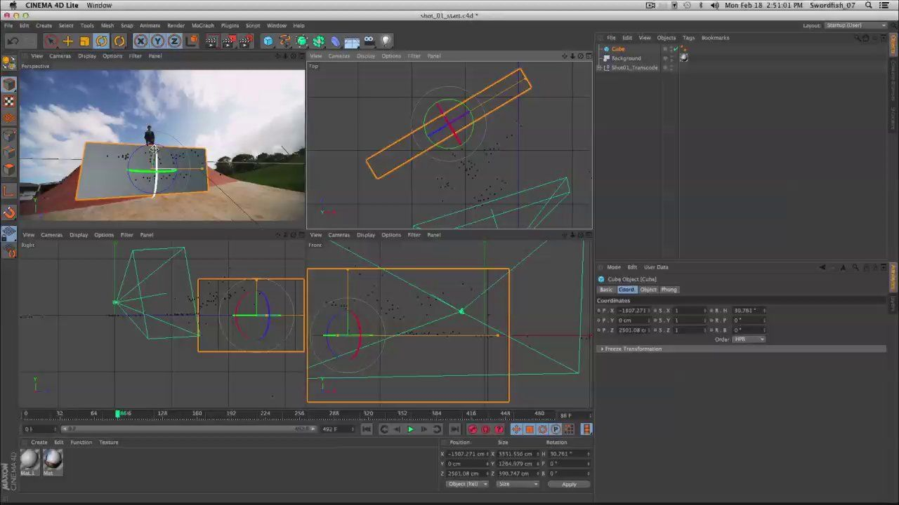 Cineware and Cinema 4D Lite In Production, Part 03: Set