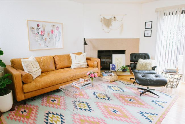 How To Decorate With A Statement Rug Cheap Living Room Furniture Furniture Living Room Furniture