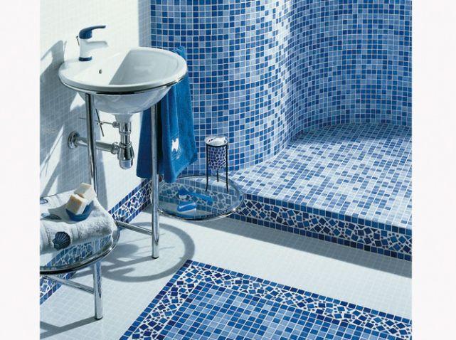 Lapeyre Harmonie DECOMAISON Pinterest Lapeyre Salles De - Salle de bain mosaique bleu