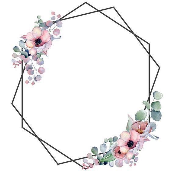 Pin By Tawba Nasfi On Eid Flower Frame Birthday Wallpaper Phone Wallpaper