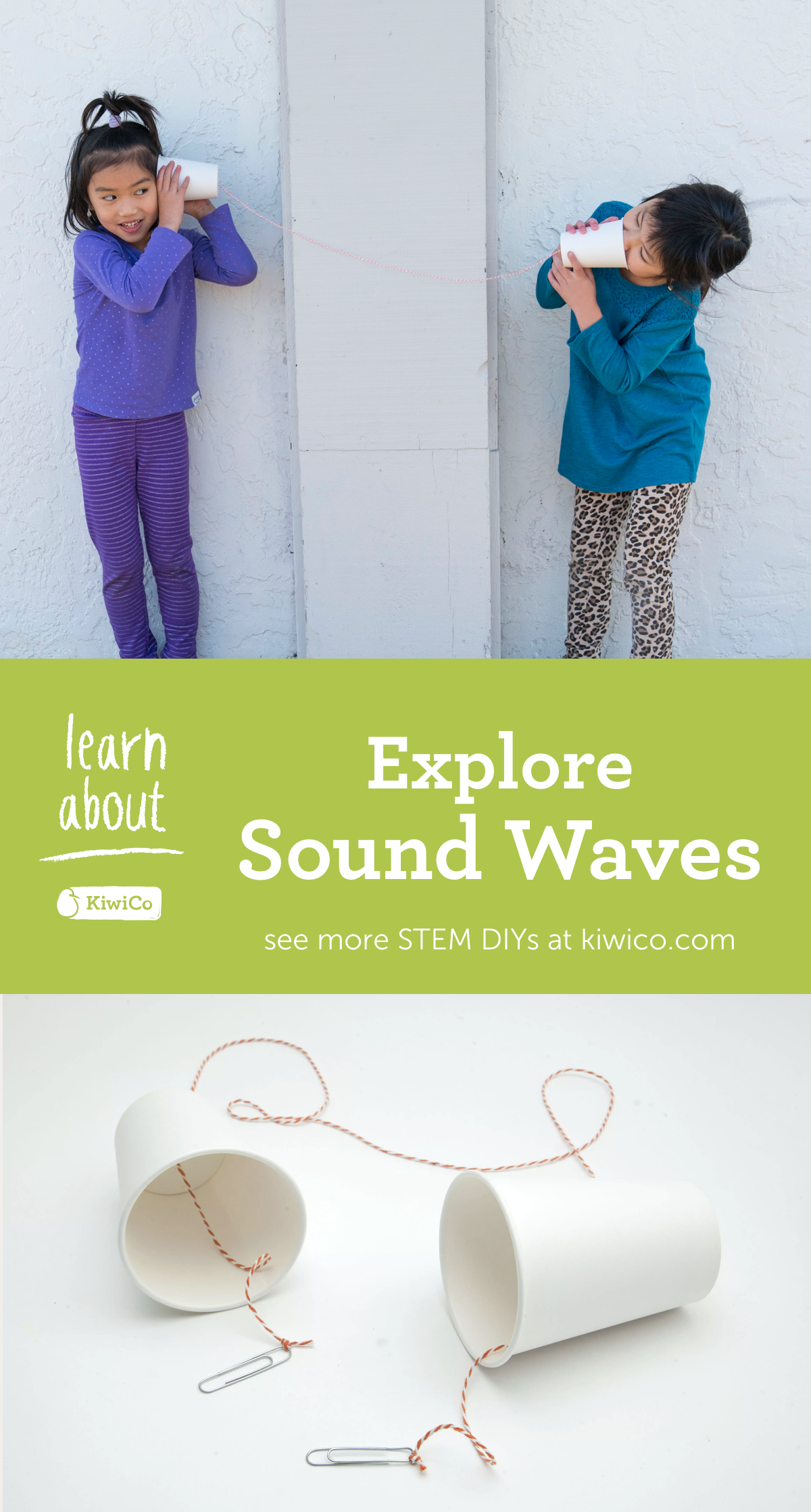 Explore The Physics Of Sound Waves With This Paper Cup