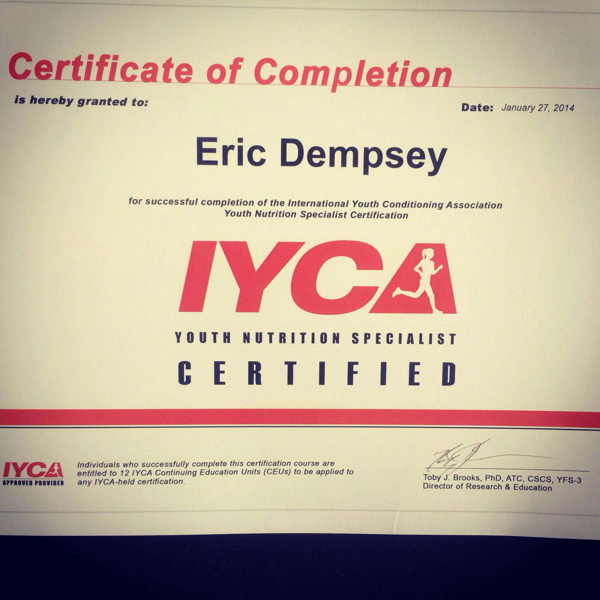 Iyca Certified Youth Nutrition Specialist Nutrition Pinterest