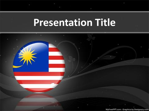 Malaysia Powerpoint Template  Projects To Try