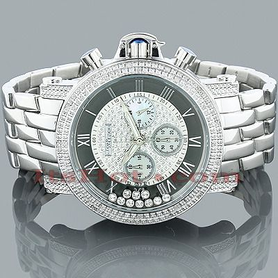 jojino jojo mens diamond watch 0 25ct moving stones men s jojino jojo mens diamond watch 0 25ct moving stones