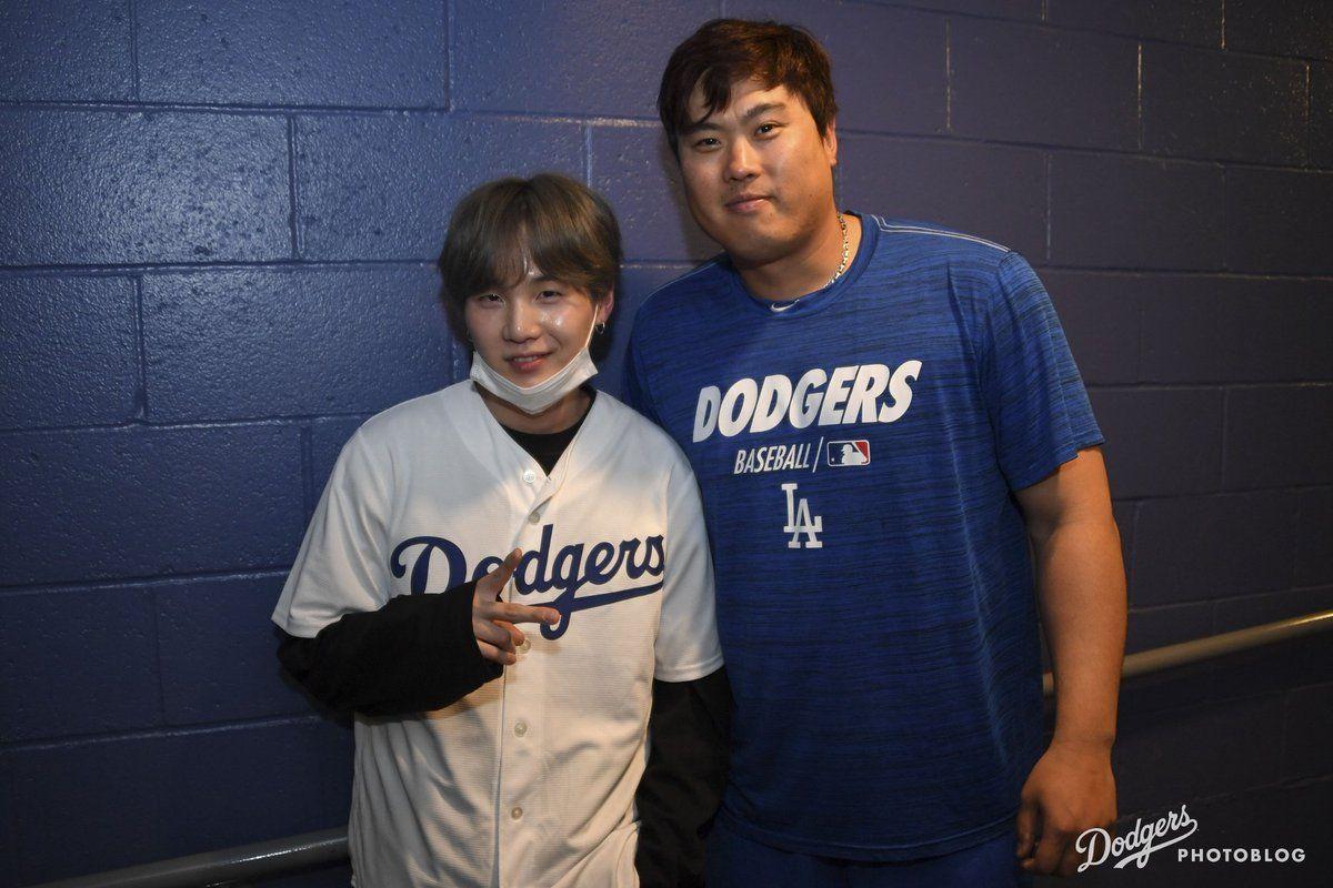 Dodgers 포토블로그 슈가 사진 Yoongi, Mixtape, Suga