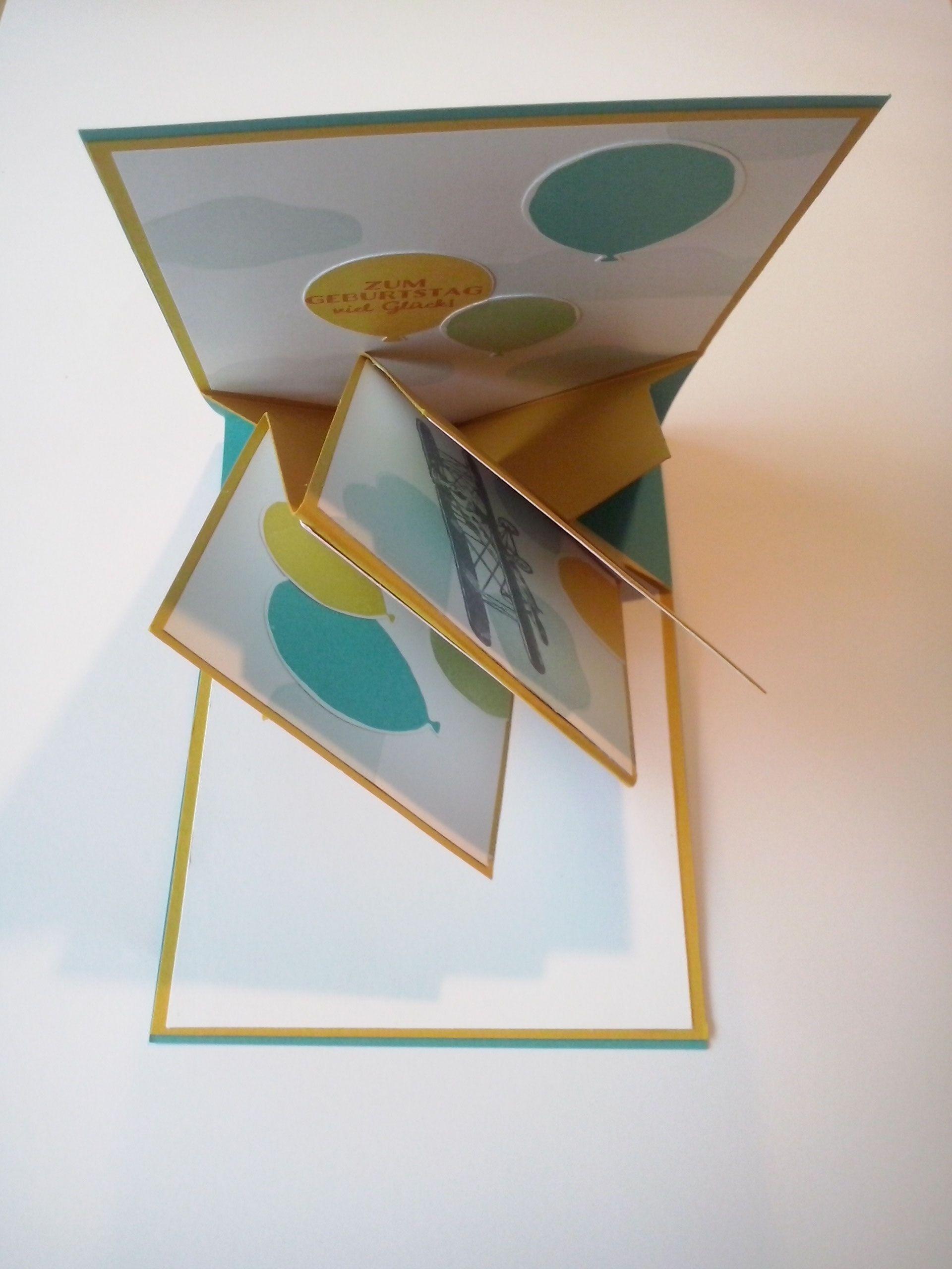 popup panel card willkommen bei stampin fee besondere karten karten karten basteln und. Black Bedroom Furniture Sets. Home Design Ideas