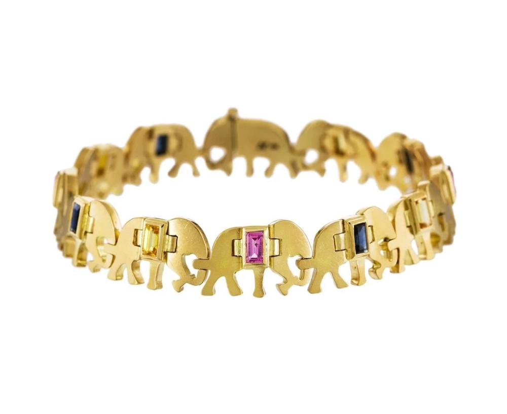 the caravan of elephants bracelet