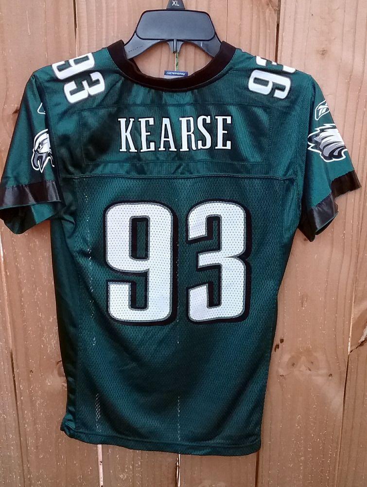 Jevon Kearse Philadelphia Eagles Jersey Youth Medium Reebok NFL  Reebok   PhiladelphiaEagles f46da0f0a