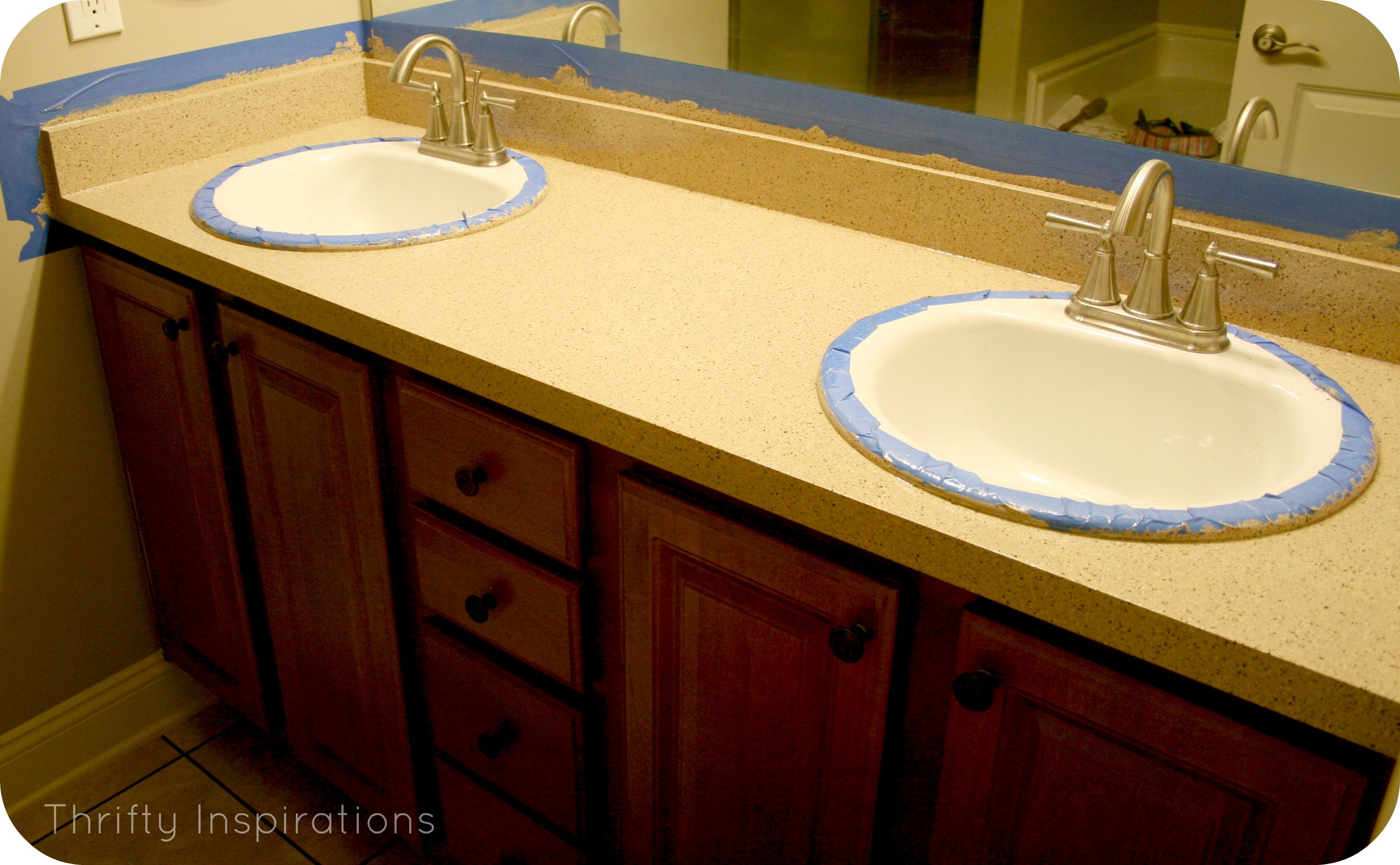 Countertop Redo Rustoleum Transformations