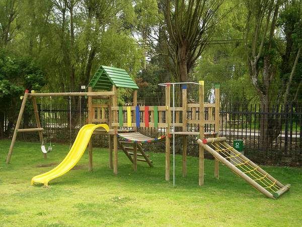 PARQUES DE MADERA | Juegos niños | Pinterest | Parque, Madera y Juego