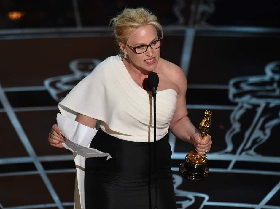 #oscars #2015 PATRICIA ARQUETTEPatricia Arquette se ha llevado el Oscar a la mejor actriz por Boyhood