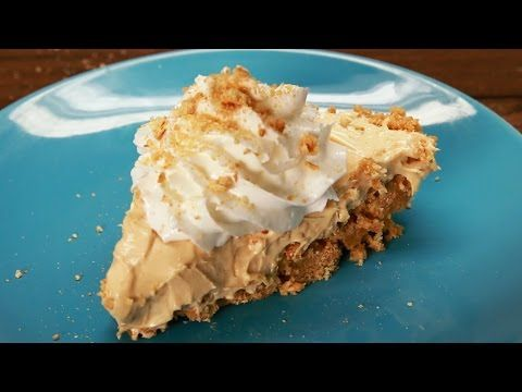 ▶ How To Make A No-Bake Peanut Butter Pie - YouTube