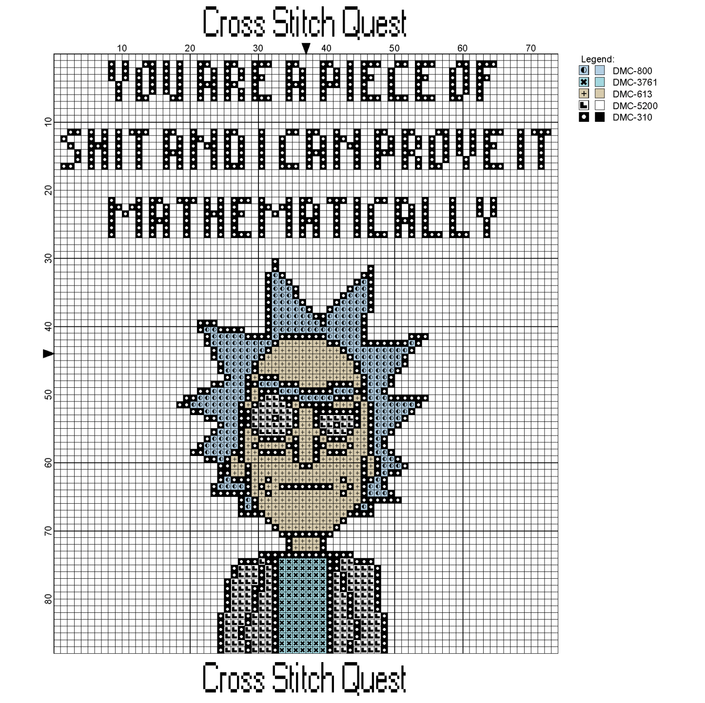 Free rick and morty cross stitch pattern rick sanchez cross stitch