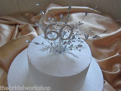 60th Diamond Wedding Anniversary Birthday Diamante Crystal