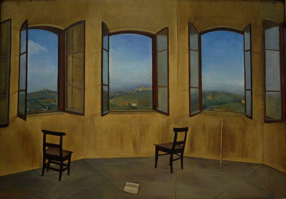 Jessie Boswell 1881 1956 The Three Windows 1924