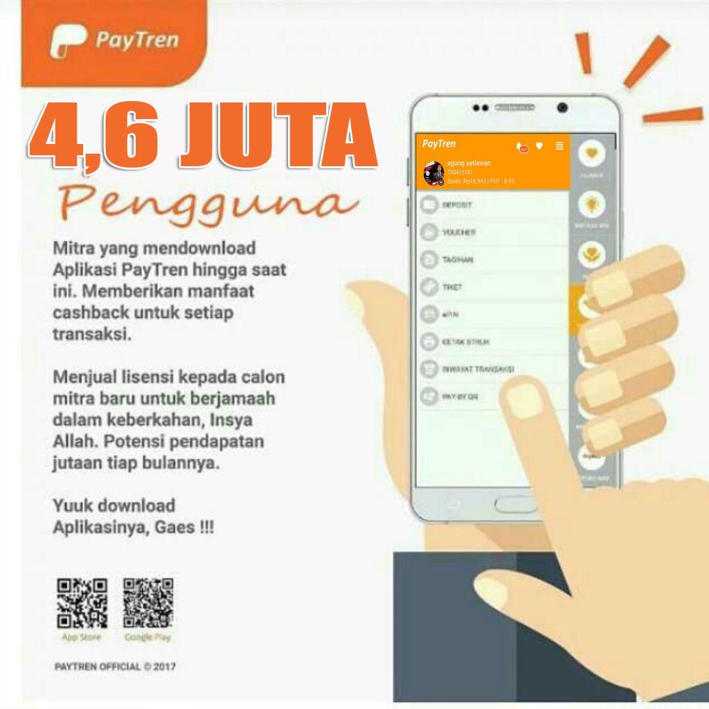 Cara Daftar Paytren Bandung Resmi 3 Langkah Mudah Update 2018 Paytren Aplikasi Kerja Keras Qur An