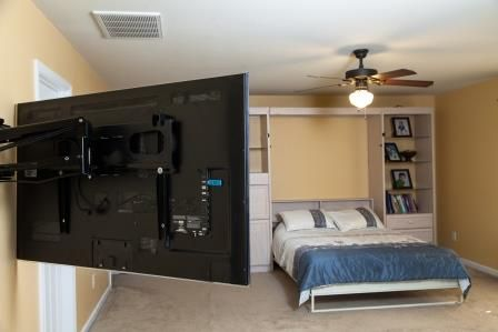 50 Ideas To Decorate The Wall You Hang Your Tv On Bedroom Tv