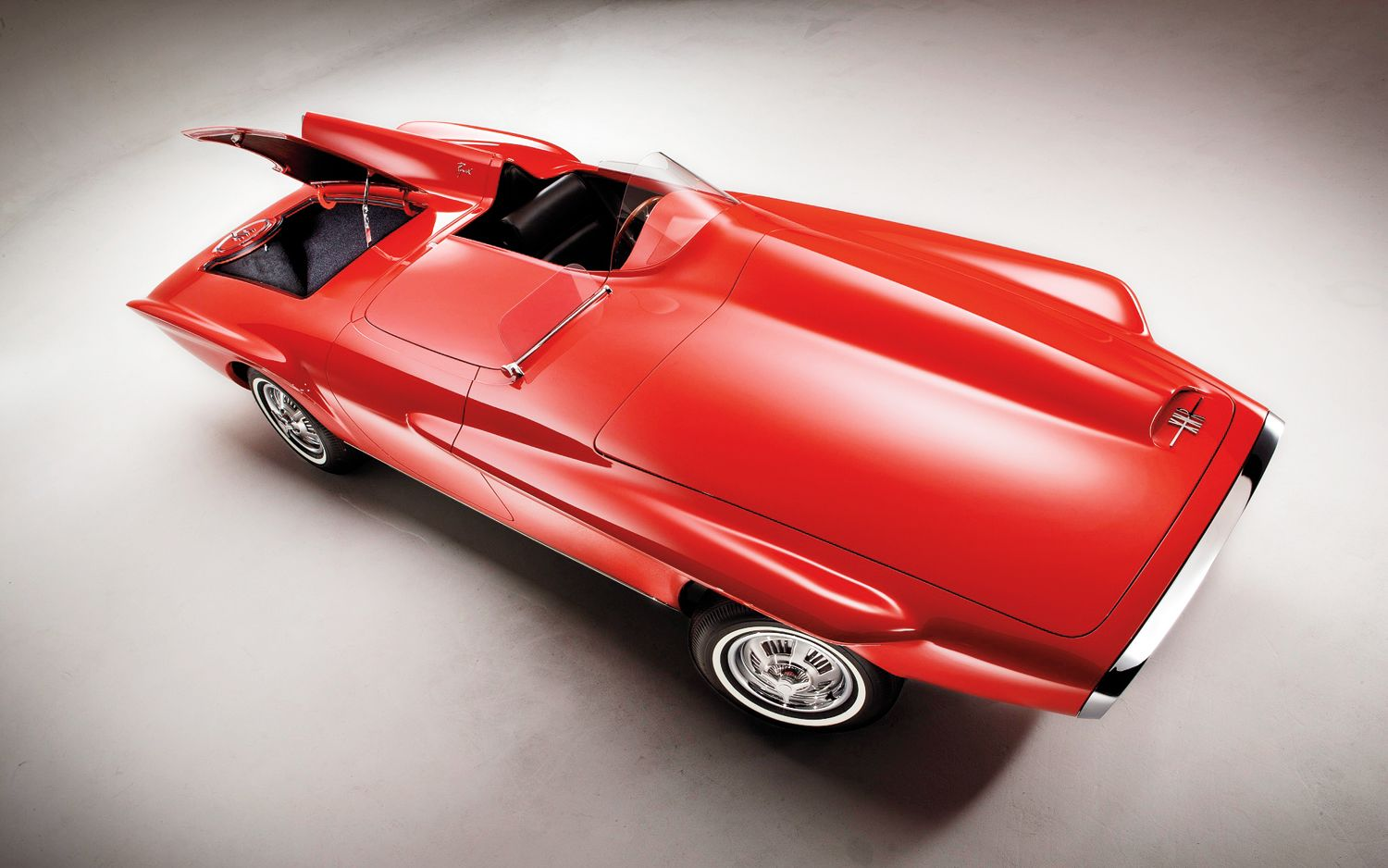 1960 automotive | 1960 Plymouth XNR Concept Car Top View Photo 6 ...