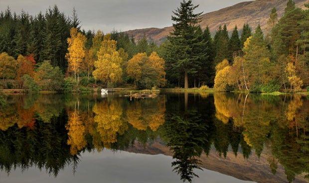 Aqui, Merrifield não precisou ir longe para clicar esta bela imagem. Ele captou a beleza da Reserva de Thirlmere, em Keswick, na região de Cúmbria, na Inglaterra, onde mora (Foto: Roger Merrifield/Barcroft Media)
