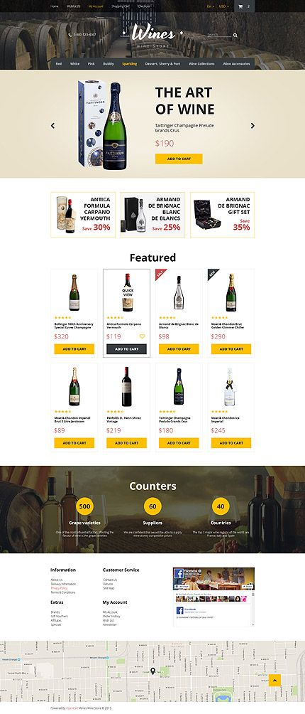 Food & Drink #Most Popular #OpenCart / Template #57580