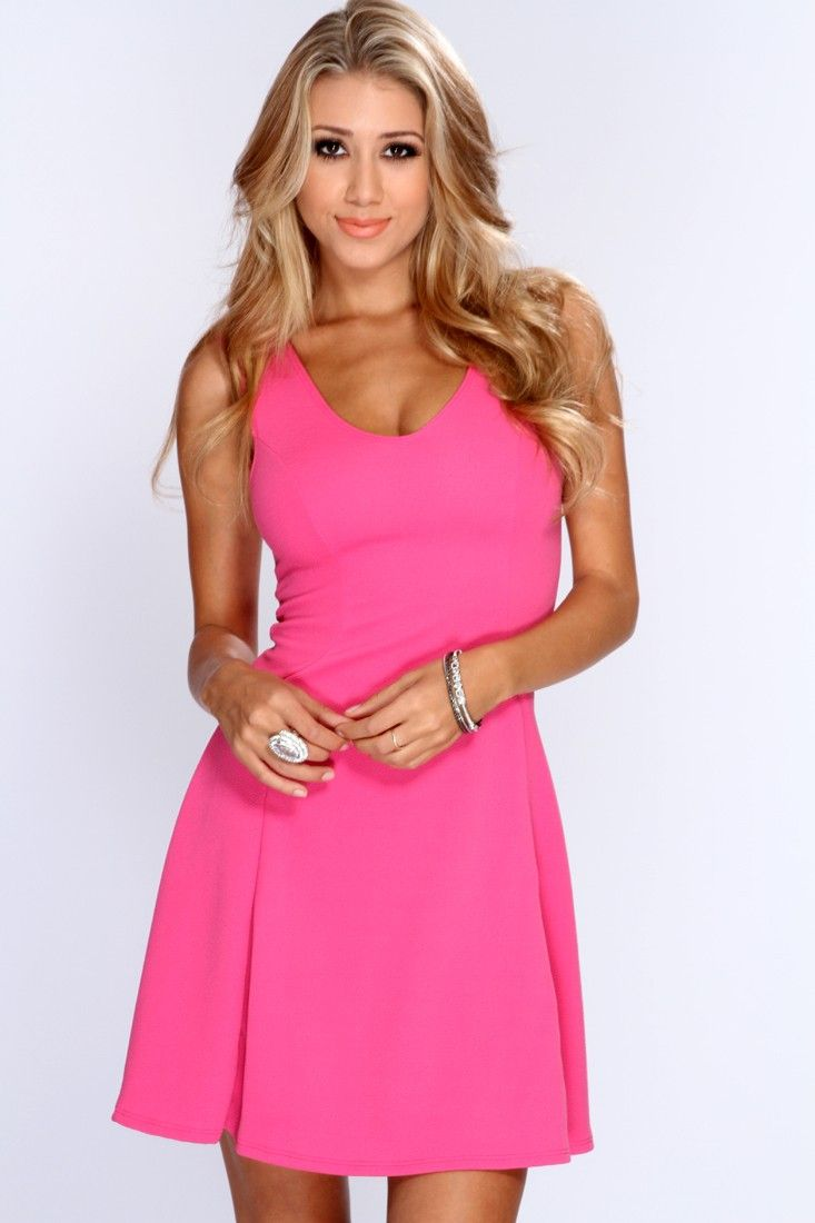 When the night falls, your date will fall for the girl in this gorgeous dress! This evening will enchant you with a romantic dinner and starlit dancing in this beautiful dress. Featuring V-neckline, sleeveless style, textured fabric, short length, and finished with a comfortable flowy fit. 95% polyester 5% spandex. Made in USA