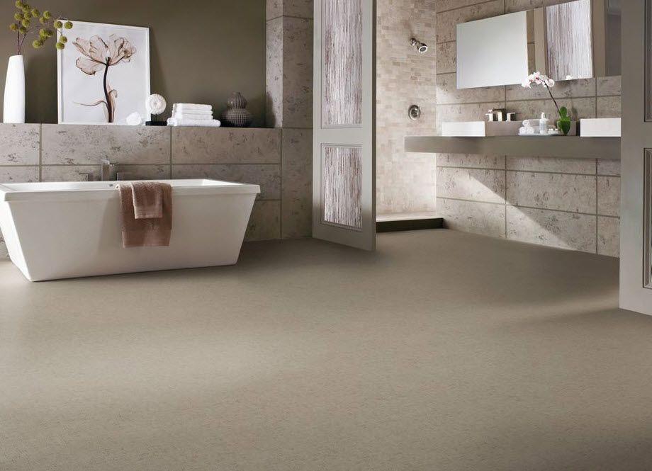 a modern clean look floor pvc flooring massimo flint armstrong flooring usa - Armstrong Bathroom Flooring