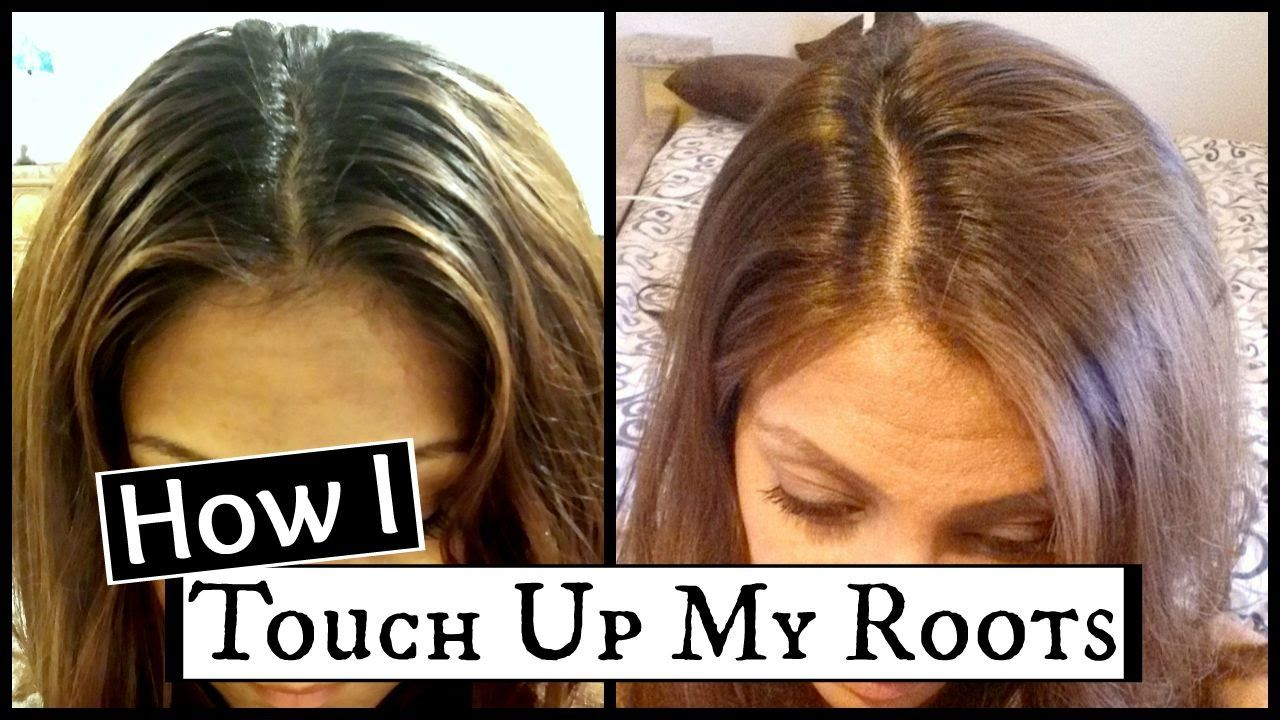 How To Touch Up Dark Roots At Home │How I Dye My Hair