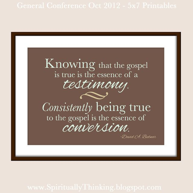 Free General Conference Printables - October 2012 - November - referral coupon template