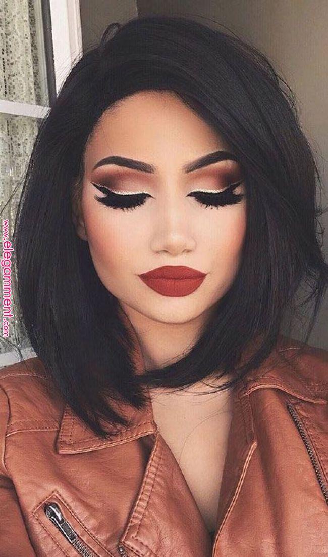 Lèvres Maquillage Up 50 | Coupe De Cheveux in 2019 | Pinterest | Makeup Makeup #lipmakeup