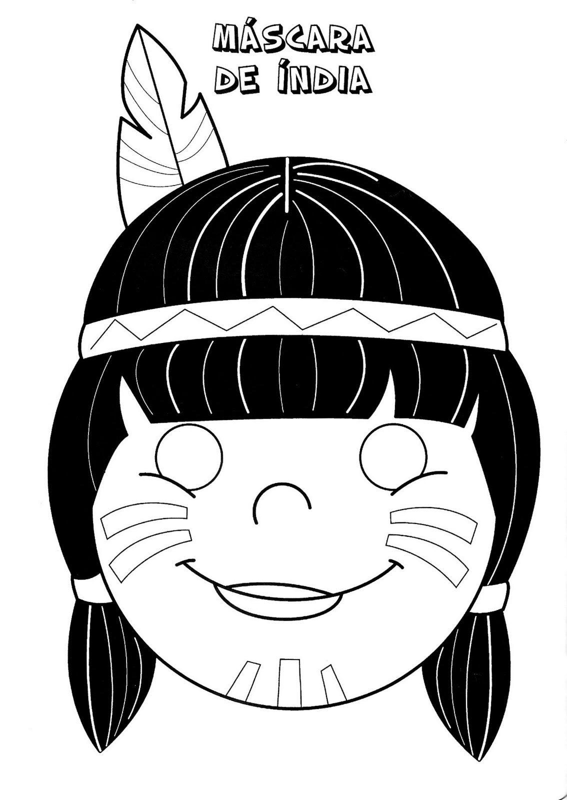 masker | Para niños | Pinterest | Indio, Carnavales y Los indios
