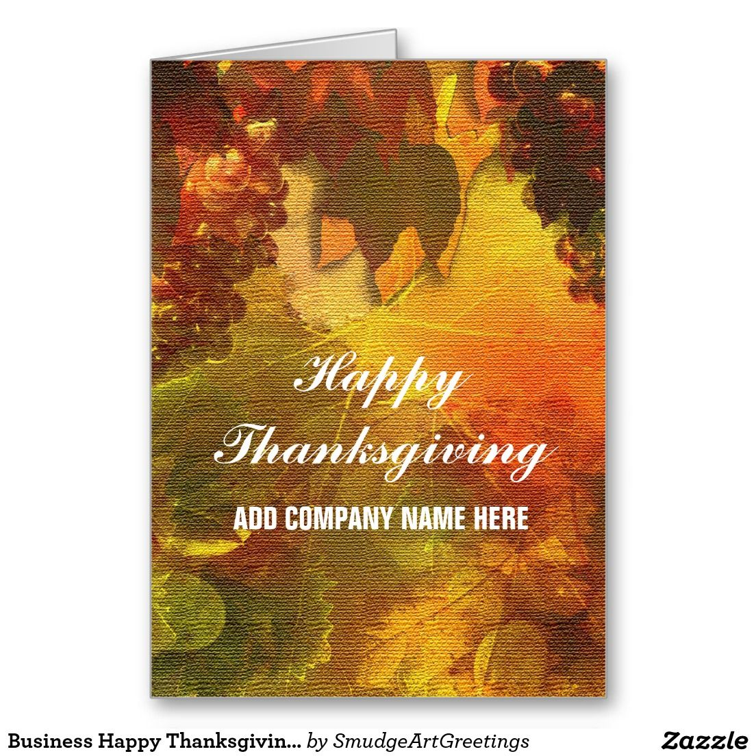Business corporate thanksgiving card happy thanksgiving business corporate thanksgiving card kristyandbryce Gallery