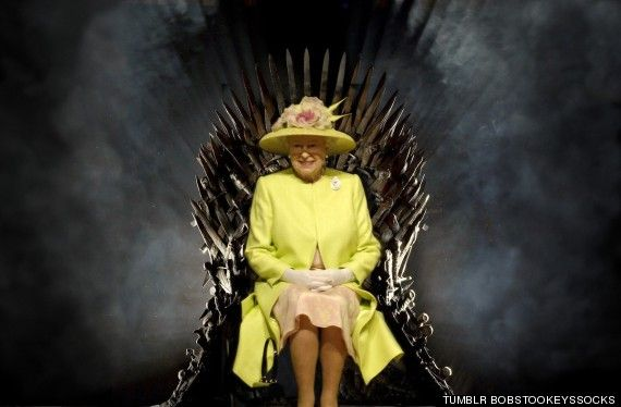 Queen Elizabeth Epicly Stares Down The Iron Throne Queen Elizabeth Iron Throne Queen Elizabeth Ii