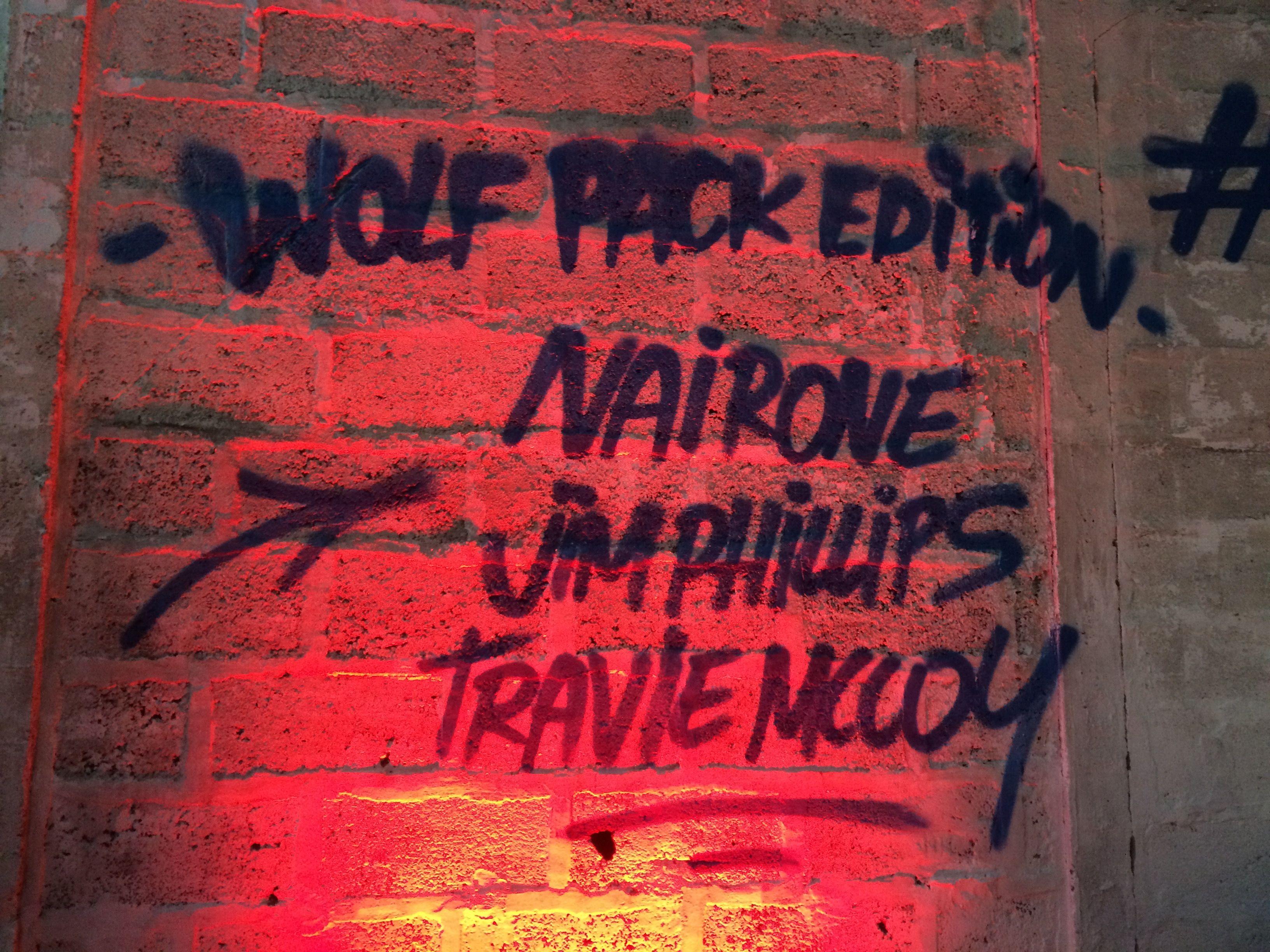 Présentation Wolf pack édition 2016 à Ground Control