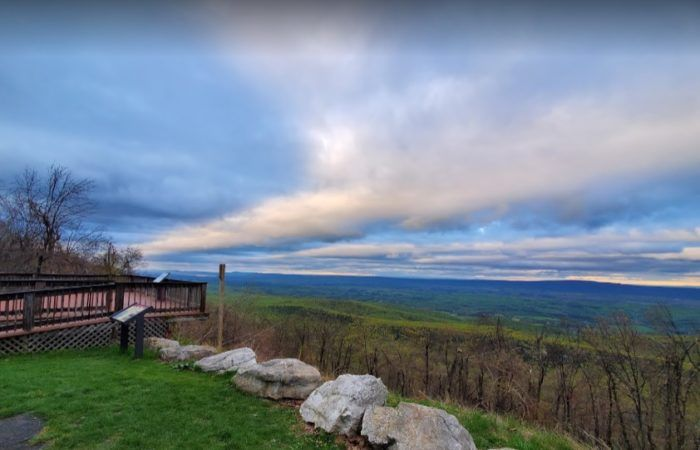 West Virginia's Cacapon Mountain Is One Of The Best Hiking Summits for Viewing Multiple States #westvirginia