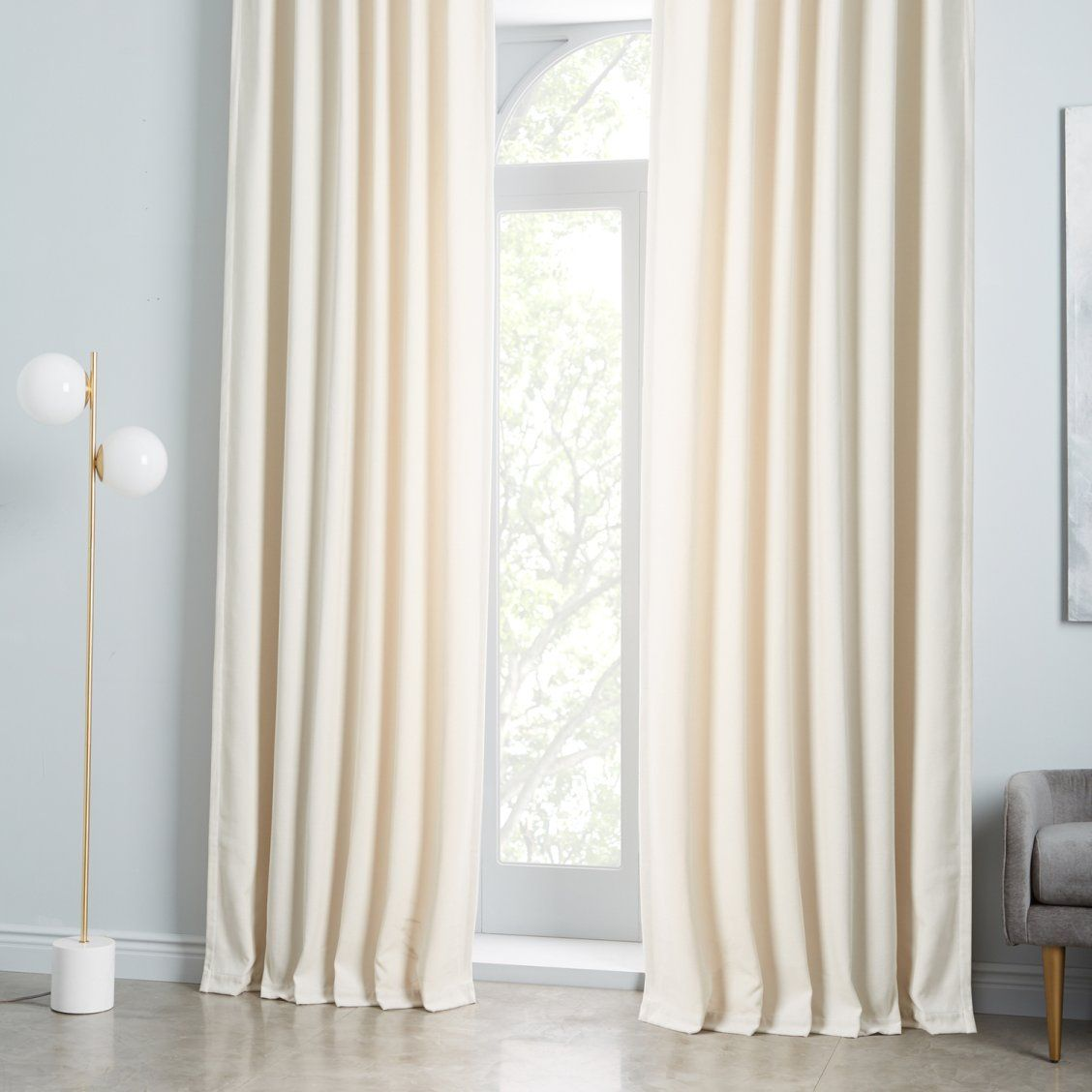 How To Choose The Right Curtains Front Main Ivory Curtains