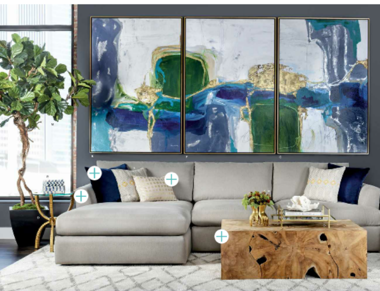 High fashion home 2015 fall lookbook living room