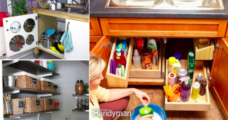 20 Clever Storage Ideas In Order To Organise Your Kitchen Idee
