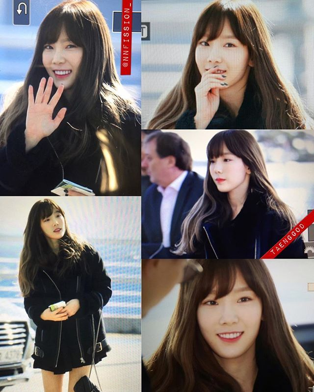 WEBSTA @ _taeyeonfanpage - [Preview] 161201 Taeyeon - Incheon Airport heading to Hong Kong for 'MNET Asian Music A…   Mnet asian music awards ...