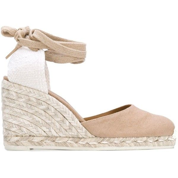 65ead6da15d Castañer Wedge Espadrilles ( 93) ❤ liked on Polyvore featuring shoes
