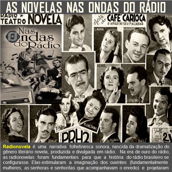 As novelas nas ondas do rádio | Novelas, Rádio, Historia do radio
