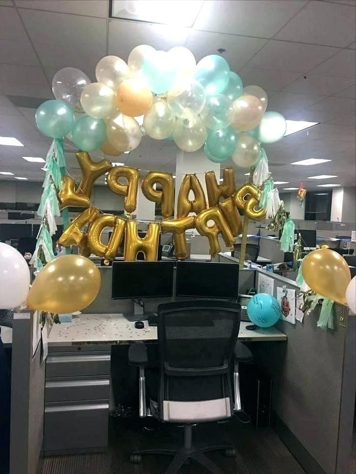Cubicle Birthday Decoration Ideas Inspirational Cubicle ...