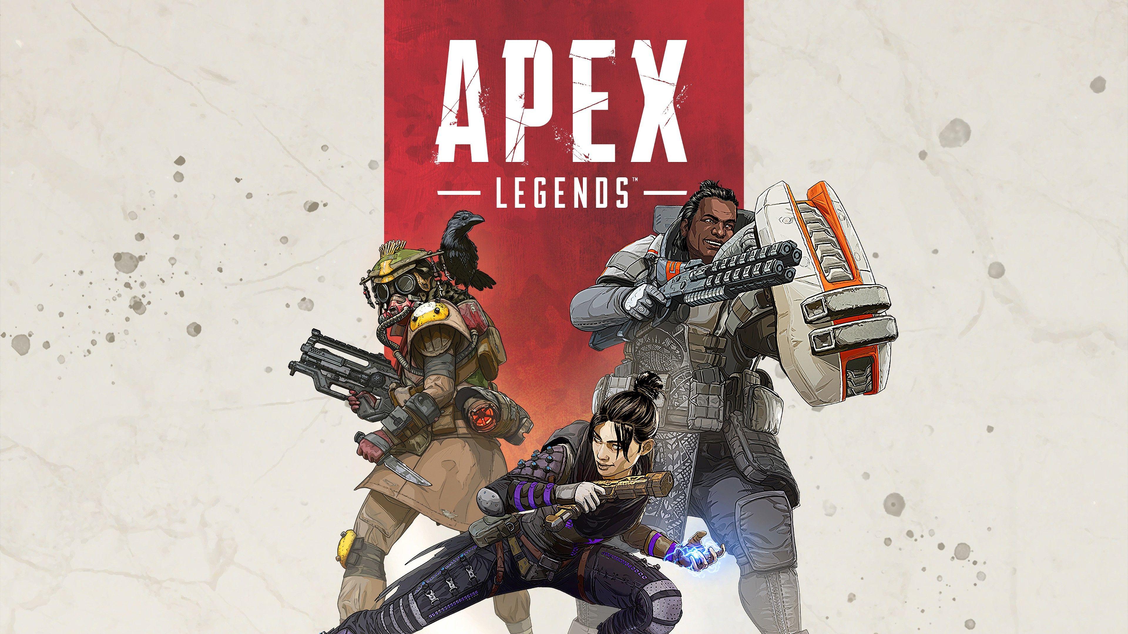 Apex Legends Poster 4k 2019 Apex Wallpaper 4k 2019 Apex Phone Wallpaper Hd 4k Apex Legends Wallpaper Phone Titanfall Battle Royale Game Character Wallpaper