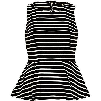 stripes and peplum?? yes!