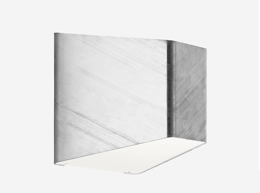 Zero lighting acoastline galvanized steel finish wall mounted