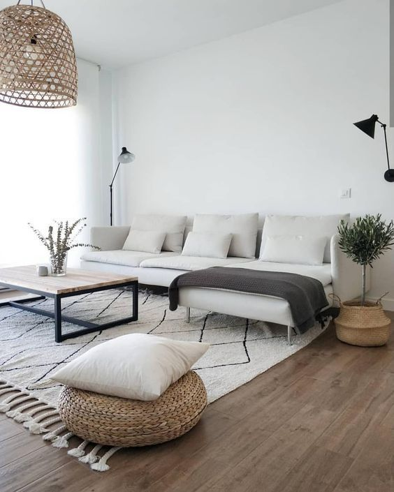 Photo of Modern Living Room Home Decor | Neutral Colors Interior Design – Vardagsrum Diy